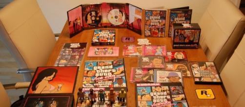 'Grand Theft Auto' merchandise via Flickr.