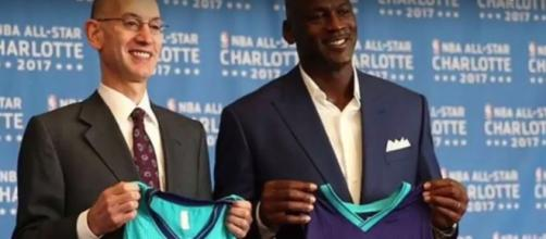 Hornets unveil new jerseys with Jumpman logo - (Image credit:https://www.youtube.com/watch?v=V6HQIB3OFuA)
