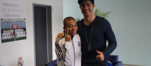 Kylian Mbappé est un grand fan de Cristiano Ronaldo depuis toujours (eurosport.fr)