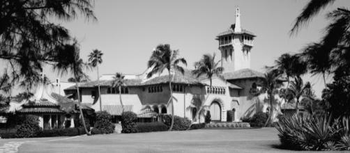 Mar-A-Lago — the Florida estate of Marjorie Merriwether Post, designed by Joseph Urban by author Jack Boucher (1931–2012) via Wikimedia Commons