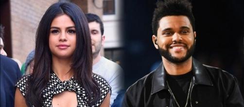 Selena Gomez and The Weeknd - Hollyscoop/YouTube Screenshot