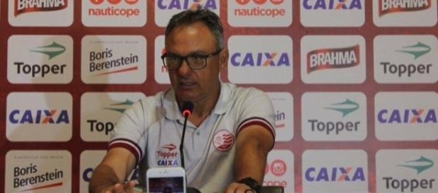 Beto Campos ficou apenas nove jogos na equipe (Foto: Reprodução)