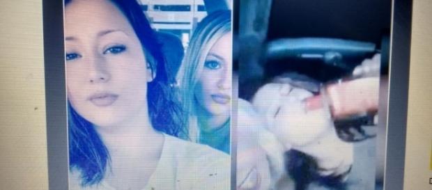 No vídeo as meninas bebiam e riam sem parar