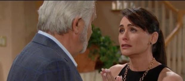 Eric wants to divorce Quinn. [Image by YouTube/B&B News]