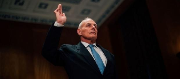 Gen. John Kelly is seen as a beacon of discipline in the White House by fellow Republicans. Photo: Office of the President-elect/Creative Commons