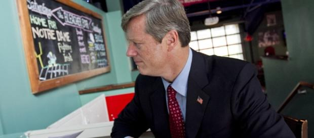 Governor Charlie Baker in an undated photo - Flickr/WBUR Boston's NPR News Station