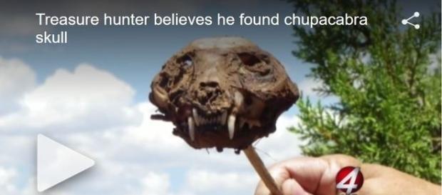 Homem acredita ter descoberto suposto crânio de criatura lendária (KOB 4)