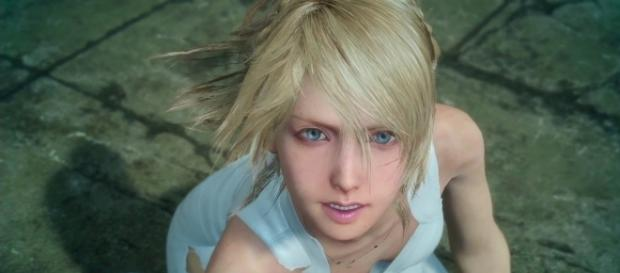 Lunafreya Nox Fleuret deserves her own character side story DLC in 'Final Fantasy XV' (image source: YouTube/DSPGaming)
