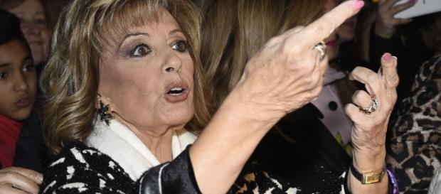 María Teresa Campos, enfadada con parte de la prensa.