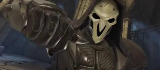 'Overwatch' hero Reaper is an Offense character. (image source: YouTube/overwatchtactics)
