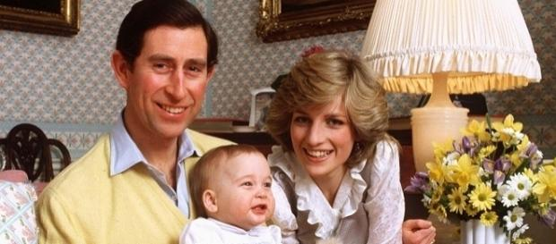 Príncipe Carlos, princesa Diana e William (Getty)