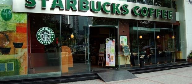 Starbucks Coffee Shop in Guangzhou, China. Source: Peter Rimar via Wikimedia Commons