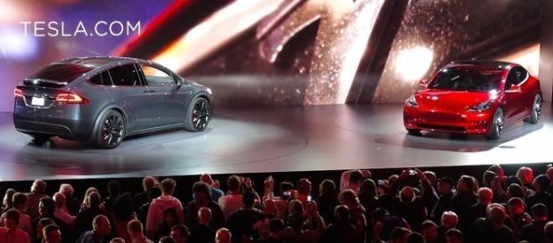 Tesla Model XandModel 3. Source: Steve Jurvetson via Flickr