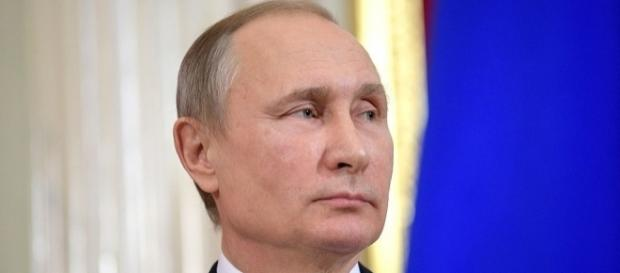 Vladimir Putin counters sanctions bill by cutting down U.S. diplomats in Russia. (Wikimedia/The Russian Presidential PIO)