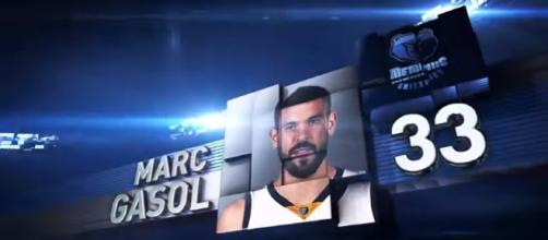 2015 All-Star Top 10: Marc Gasol Youtube / NBA