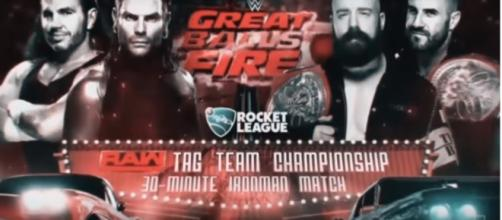 30-minute Iron Man match for Tag Team Championship Image credit- KenanWWE/Youtube