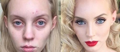 A maquiagem muda totalmente o visual de qualquer um. ( Fotos: Goar Avetisyan )