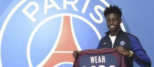 George Weah's son Timothy signs PSG pro deal (Image Credit: pinterest.com)