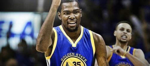 Kevin Durant, Golden State Warriors - (photo: youtube - NBA)
