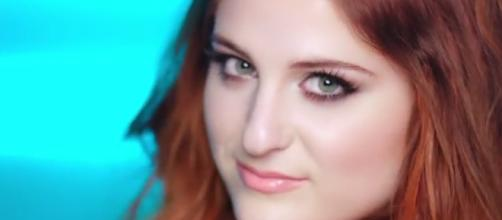 Meghan Trainor celebrated one year relationship with boyfriend. Image via YouTube/VEVO