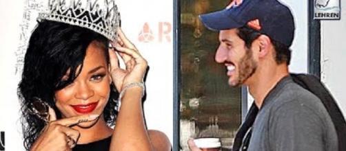 Rihanna and Hassan Jameel - Lehren Hollywood/YouTube