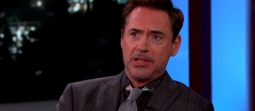 "Robert Downey Jr. plans to stop from his role as ""Iron Man."" Image via YouTube/Jimmy Kimmel Live"