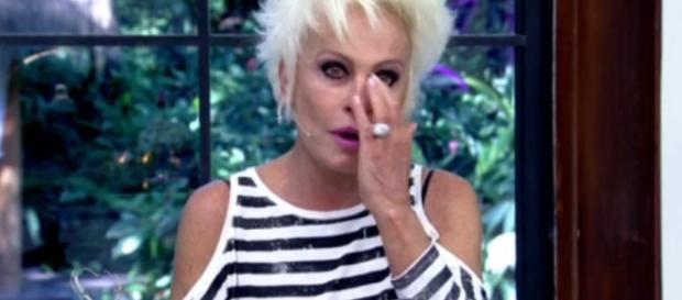 Apresentadora Ana Maria Braga se assustou com a 'invasão' de um animal em seu programa matinal