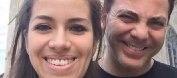Cristian Castro con la ex esposa Carol Victoria Urbán