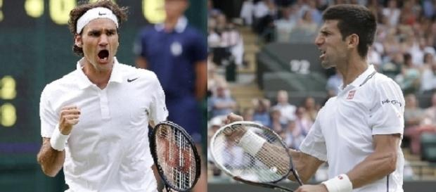 Federer and Djokovic/ Photo: Ver en vivo En Directo via Flickr CC BY-SA 2.0