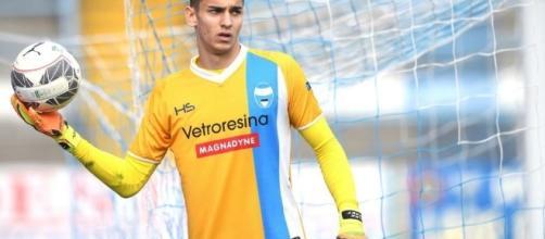 Alex Meret: portiere di talento, considerato come probabile erede di Buffon.