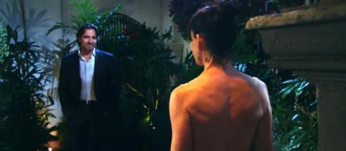 Beautiful, puntate 10-14 luglio: Ridge vede Quinn nuda