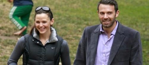 Ben Affleck and wife Jennifer Garner / Photo via Super Couples , YouTube