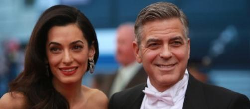 George and Amal Clooney/ [Image source: Pixabay.com]