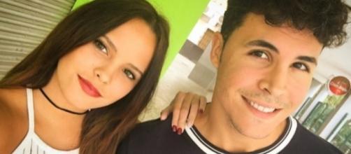 Gloria Camila y Kiko al inicio de su relación