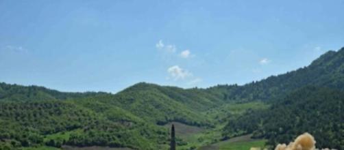 Hwasong-14 missile balistico intercontinentale lanciato dalla Corea del Nord