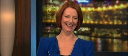 Julia Gillard questions Trump's state of mental health. Photo via RoveOnlineClips, YouTube.