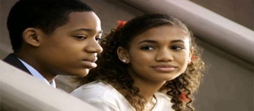 Musa de Chris, Tasha participou de diversos episódios (Foto: Reprodução)