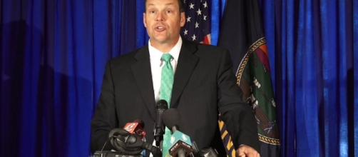 Only 6 states are willing to turn over voter data to Kris Kobach. Photo via KansasCityStarVideo, YouTube.