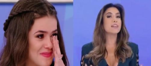 Patrícia Abravanel colocou dedo na cara de produtora, após ela defender Maísa Silva