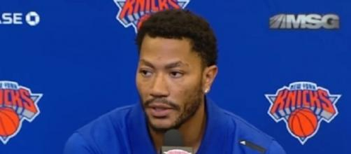 Point guard Derrick Rose will meet with the Clippers Wednesday -- Hoops Center via YouTube
