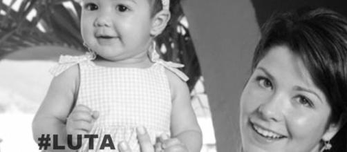 Samara Felippo sofreu problemas com a filha após depressão pós parto (Foto: Reprodução/ Montagem)