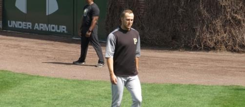 Taillon managed a career-high, Wikimedia Commons https://commons.wikimedia.org/wiki/File:Jameson_Taillon_on_April_15,_2017.jpg