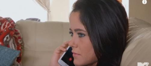 Teen Mom 2 star Jenelle Evans. (Image via YouTube screengrab)