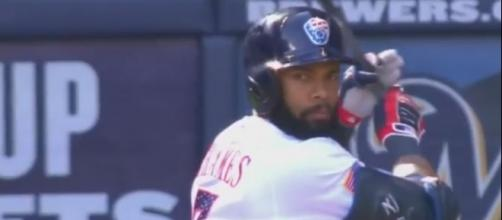 Thames in action - Image via Youtube screencap/ MLB channel