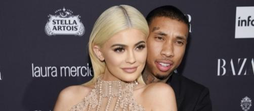 "The ""KUWTK"" star reminds everyone that she's over Tyga by doing something permanent. (via Blasting News library)"
