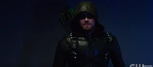 Would you watch an 'Arrow/Supernatural' crossover? [Image via The CW YT channel https://www.youtube.com/watch?v=POfJZGqdjDM]