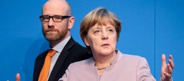 Das war's für Susanne bei Dr. Angela Merkel und Peter Tauber / Foto: Archiv stern.de