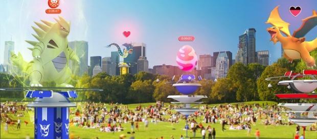 E3 2017: 'Pokemon Go's raiding, gym revamp, and badges (Image Credit: massivelyop.com)