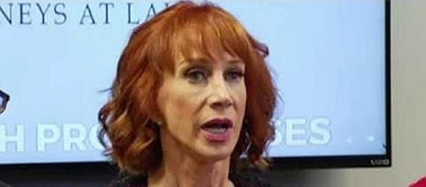 Kathy Griffin under federal investigation by Secret Service [Image: YouTube screen shot]