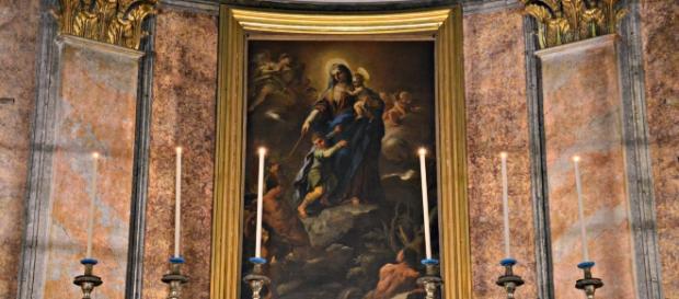 Madonna del Rifugio o del Soccorso di Luca Giordano